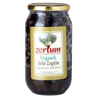 Zertum Organik Sele Zeytin 900 G 230 - 260 Ad/kg