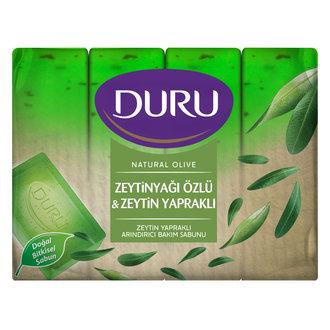 Duru Natural Olive Zeytin Yapraklı 4X150 G
