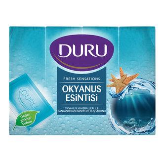 Duru Fresh Duş Sabunu Okyanus Esintisi 4X150 G