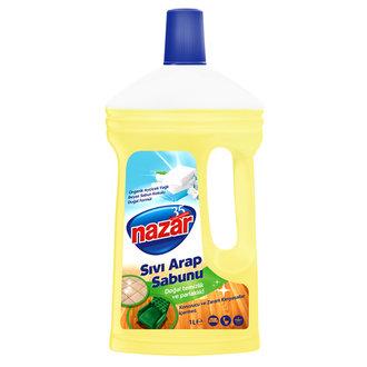 Nazar Sıvı Arap Sabunu Beyaz Sabun 1 L