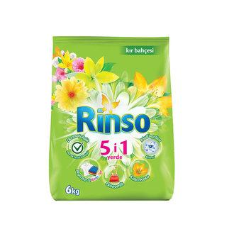 Rinso Matik Toz Çamaşır Deterjanı Kır Bahçesi 40 Yıkama 6 Kg