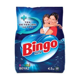Bingo Toz Çamaşır Deterjanı 4.5 Kg Renkli&Beyaz