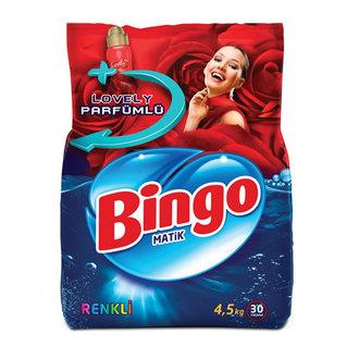 Bingo Toz Çamaşır Deterjanı 4.5 Kg Renkli