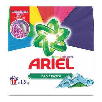 Ariel Dağ Esintisi Renkliler 10 Yıkama 1.5 Kg