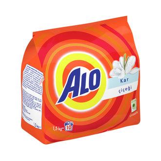 Alo Toz Çamaşır Deterjanı Kar Çiçeği 1,5 Kg 10 Yıkama