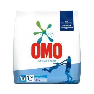 Omo Active Fresh Beyazlar için Toz Çamaşır Deterjanı 1.5 Kg