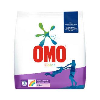 Omo Color Renkliler için Toz Çamaşır Deterjanı 1.5 Kg
