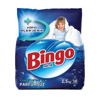 Bingo Toz Çamaşır Deterjanı 1.5 Kg Parfümsüz