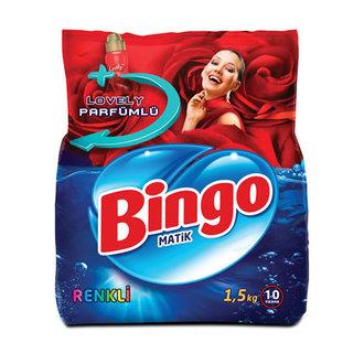 Bingo Toz Çamaşır Deterjanı 1.5 Kg Renkli