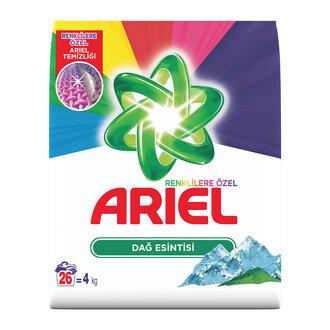 Ariel Dağ Esintisi Renkliler 26 Yıkama 4 Kg