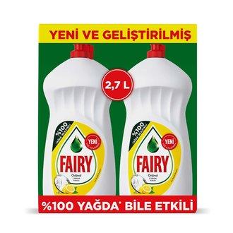 Fairy Sıvı Bulaşık Deterjanı Limon 2X1350 Ml