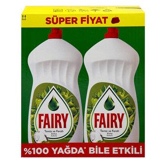 Fairy Sıvı Bulasık Deterjanı Elma 2x1350Ml