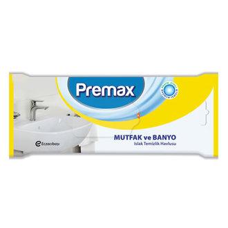 Premax Mutfak & Banyo Islak Temizlik Bezi