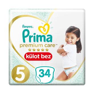 Prima Premium Care Külot Bez Junior Paket 5 No 34'lü