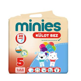 Minies Külot Bez 5 Numara 12-18 Kg Junior 23 Adet