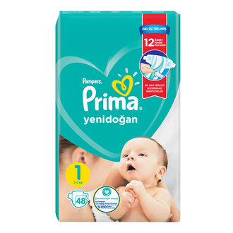 Prima Aktif Bebek Standart Paket 1 No 48 Adet