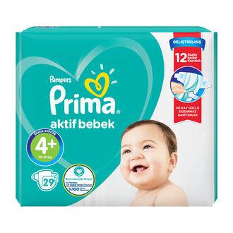 Prima Aktif Bebek Standart Paket 4+No Maxi Plus 29'lu