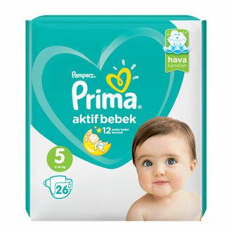 Prima Aktif Bebek Standart Paket 5 No Junior 26'lı