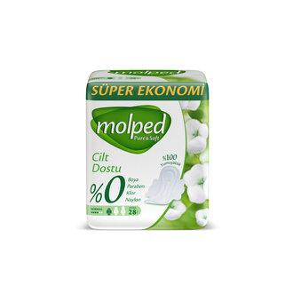 Molped Pure&Soft Ultra Ped Normal Süper Eko 28'li