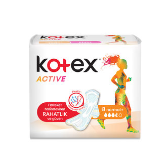 Kotex Active Tekli Normal 8'Li