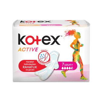 Kotex Active Tekli Uzun 7'Li