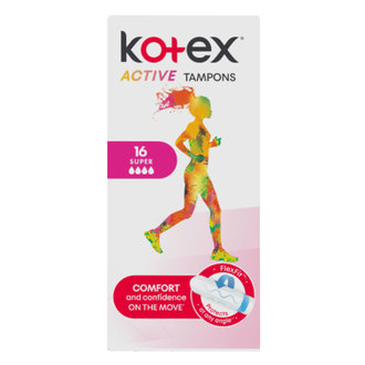 Kotex Active Tampon Süper 16'lı