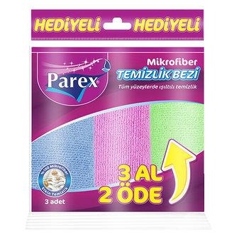 Parex Mikrofiber  Temizlik Bezi 3'Lü