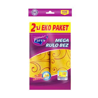 Parex Mega Rulo Temizlik Bezi 2'Li