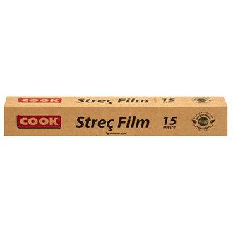 Cook Doğada Çözünür Streç Film 15 M