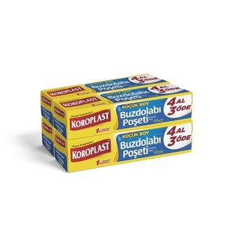 Koroplast Buzdolabı Poşeti 3+1 Küçük 20X30 160'Lı