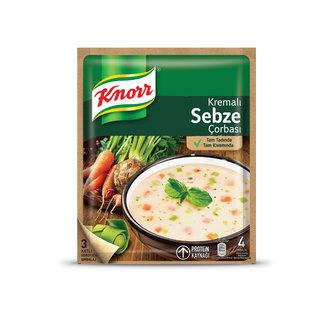 Knorr Hazır Çorba Kremalı Sebze 65 G