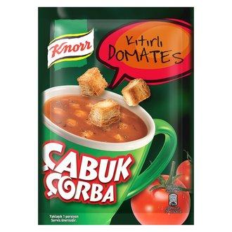 Knorr Çabuk Çorba Kıtırlı Domates 22 G