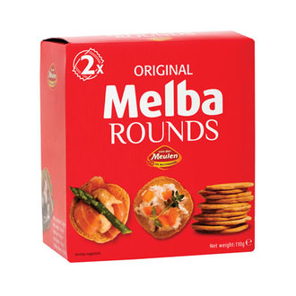 Melba Rounds Kıtır Ekmek 110 G