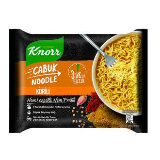 Knorr Körili Çabuk Noodle 66 G