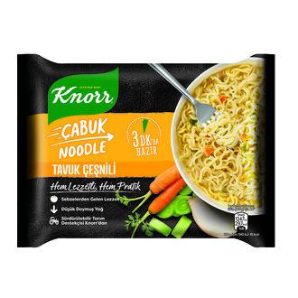 Knorr Tavuk Çeşnili Çabuk Noodle 66 G