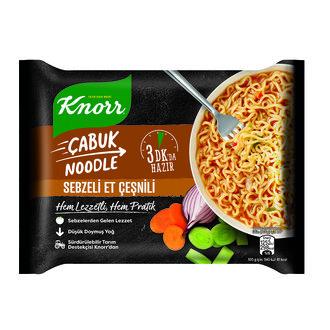 Knorr Sebzeli Et Çeşnili Çabuk Noodle 66 G