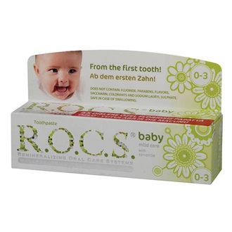 Rocs Baby 0-3 Yaş Florürsüz Diş Macunu 35 Ml
