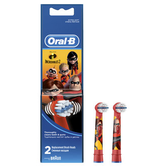 Oral - B Şarjlı Diş Fırçası Yedeği Incredibles 2'Li