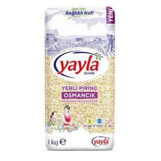 Yayla Yerli Pirinç Osmancık Bölgesi 1 Kg