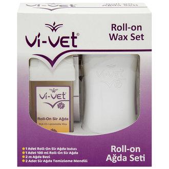 Vi-Vet Roll-on Isıtıcılı Tekli Set
