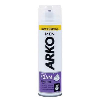 Arko Men Tıraş Köpüğü Sensitive 200 Ml