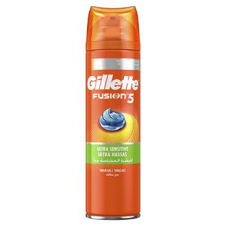 Gillette Fusion 5 Ultra Sensitive Gel 200Ml