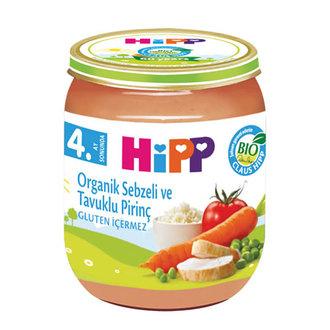 Hipp Organik Pirinçli Ve Tavuklu Sebze 125 G