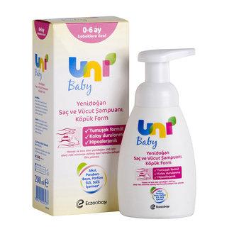 Unı Baby Yenidoğan Köpük Şampuan 200 Ml