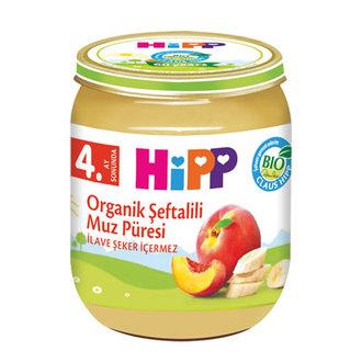 Hipp Organik Şeftali Muz Püresi 125 G