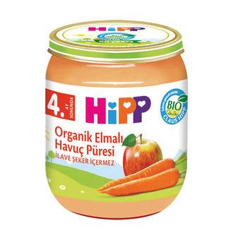 Hipp Organik Elmalı Havuç Püresi 125 G