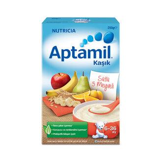 Aptamil Sütlü 5 Meyveli 250 G