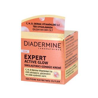 Diadermine Active Glow Sıkılaştırıcı Gündüz 50Ml