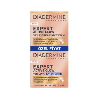 Diadermine Active Glow Gündüz 50 Ml + Gece Kremi 50Ml