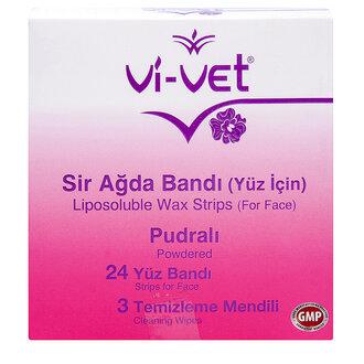 Vi-vet Purdalı Yüz İçin Sir Ağda Bandı 24'lü